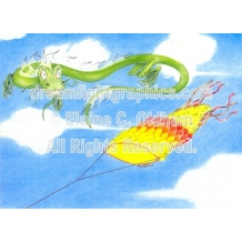 Hazards of Kite Flying (c) 2007 Elaine C. Oldham, all rights reserved