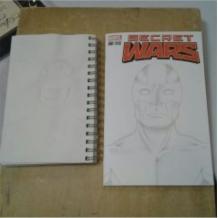 Captain Britain Sketch