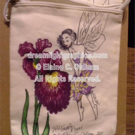 Iris' Favorite Flower © 2011 Elaine C. Oldham, all rights reserved.