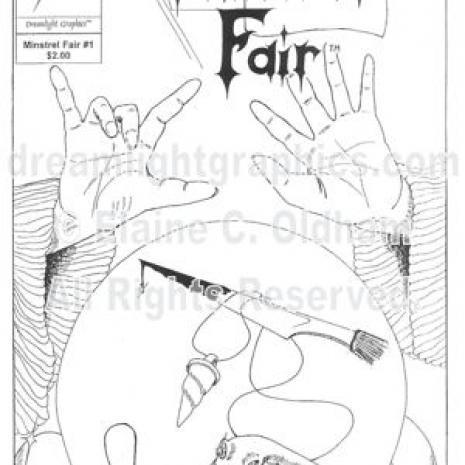 Minstrel Fair #1 cover art