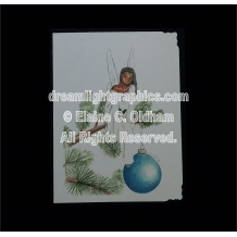 Tannenbaum greeting card © 1999 by Elaine C. Oldham, all rights reserved.