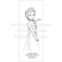 A Vision of Elsa (c) 2014 Elaine C. Oldham