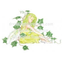 Fairy in Ivy (c) 2003 Elaine C. Oldham, all rights reserved
