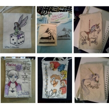 Commission Canvas Bags
